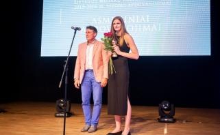 Asmeninį apdovanojimą atsiėmusi D.Šarauskaitė: savo komandai šį sezoną galėčiau parašyti tik 10 balų