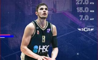 M.Kumpys - NKL pirmojo mėnesio MVP