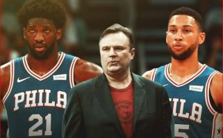 """Kontraversiškasis D.Morey oficialiai tapo """"76ers"""" krepšinio operacijų prezidentu"""
