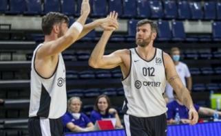 Patirtis nugalėjo jaunystę: Veličką ir Ulecką sustabdę veteranai žais finale