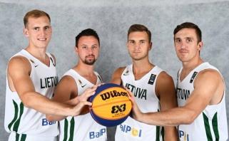 Lietuviai 3x3 turnyre Taivanyje užėmė ketvirtą vietą