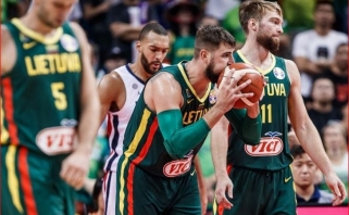 Lietuva FIBA reitinge užleido vietą dviem rinktinėms