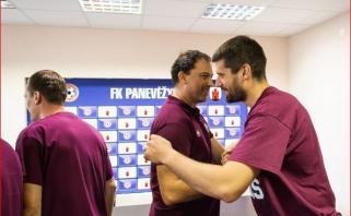 Gagičius: apie motyvus likti Panevėžyje ir be olimpiados likusią Serbiją