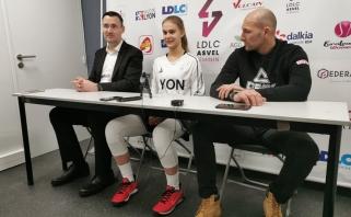 Talentingoji J.Jocytė rengiasi debiutuoti moterų Eurolygoje