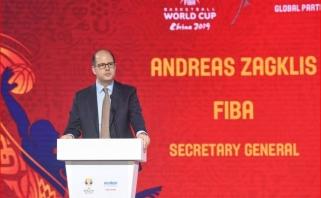FIBA vadovas problemų nepastebėjo: teisėjai šiam čempionatui buvo puikiai pasiruošę