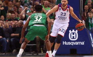 """Buvęs žalgirietis V.Micičius: arba """"Anadolu Efes"""", arba NBA"""