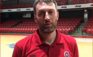 """""""Ryto"""" treneris M.Brazys prieš dvikovą Prienuose išskyrė A.Veličką bei kitus """"Žalgirio"""" auklėtinius"""