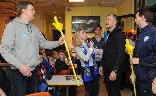 """LKL Protų kovose """"Neptūno"""" trenerių dvikova: D.Adomaitis prieš M.Brazį"""