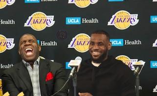"""M.Johnsonas: LeBronas atves """"Lakers"""" ant čempionų pakylos, imsim dar vieną superžvaigždę"""