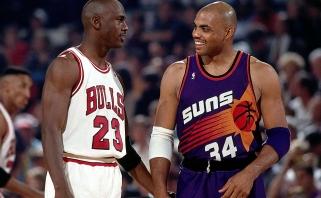 Barkley: Jordanas ilgai negalėjo laimėti, tačiau neprašė pagalbos, skirtingai nei dabartinės žvaigždės