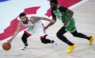 """""""Celtics"""" iškaršė kailį NBA čempionams – triuškino net 40 taškų skirtumu"""