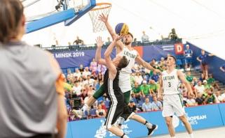 Europos žaidynėse – galingas krepšininkų startas