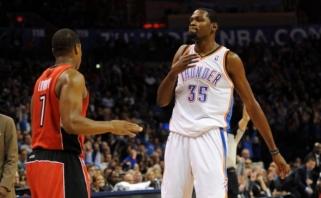 """NBA savaitės geriausieji - J.Valančiūno bendraklubis ir """"Thunder"""" lyderis"""