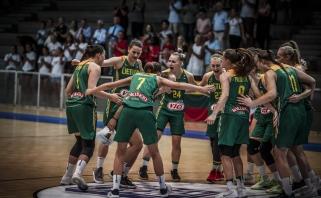 Užtikrintai finale žaidusioms merginoms - Europos čempionato auksas!