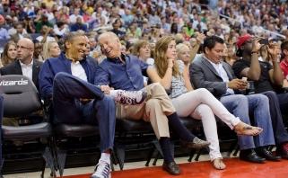 B.Obama ir J.Bidenas palaiko boikotą NBA