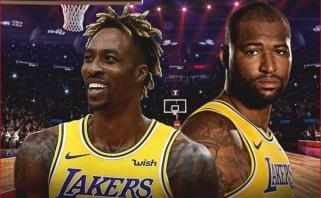 """B.Windhorstas: """"Lakers"""" pasirinks patikrintą D.Howardą, o ne rizikingą D.Cousinsą"""
