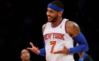 """C.Anthony norėtų baigti karjerą """"Knicks"""" klube"""