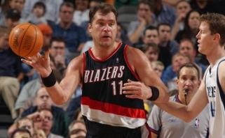 TV komentatoriai svarstė, kas yra pirmas rusas, žaidęs NBA finale - A.Sabonis ar T.Mozgovas