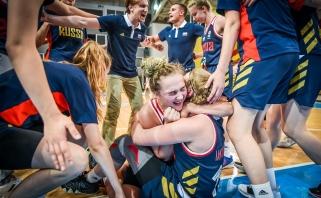 Šešiolikmetės Europos čempionato finale susitiks su rusėmis