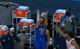 """Fantastiški Dončičiaus perdavimai per nugarą ir """"Nuggets"""" išgelbėjęs tritaškis – gražiausi NBA momentai"""
