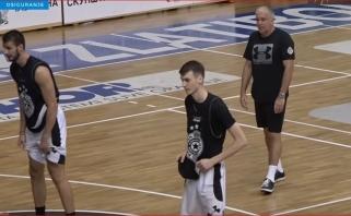 """Į raumenis pučiantį """"Partizan"""" grįžęs Obradovičius: NBA nemėgsta trenerių iš Europos"""