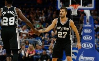 """Buvęs """"Lietuvos ryto"""" įžaidėjas prasiskynė kelią į NBA - pateko į galutinę """"Spurs"""" sudėtį"""