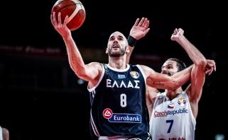 Čempionate stebinantys čekai paliko už borto Graikijos rinktinę