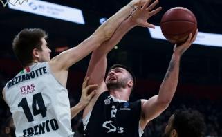 """""""Partizan"""" aukštaūgis užsikrėtė koronavirusu: sunerimti reikia ir Serbijos žvaigždėms"""
