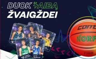"""Lietuvos mokiniams - naujas projektas """"Duok žaibą žvaigždei"""": į mokyklą atveš visą būrį krepšinio žvaigždžių"""