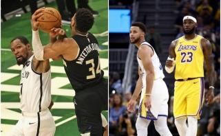 Pirmąją jubiliejinio NBA sezono dieną papuoš superžvaigždžių dvikovos, Kalėdos – taip pat įspūdingos