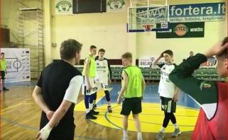 Savaitgalį Kėdainiuose rinkosi jaunieji krepšinio talentai (video)