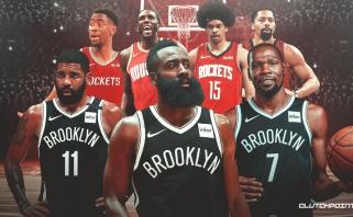 """""""Nets"""" ir """"Rockets"""" veda derybas dėl Hardeno išmainymo į 4 žaidėjus"""