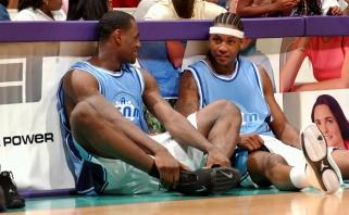 Carmelo – apie draugystę su LeBronu: pasirodėme vienas kito gyvenime reikiamu metu, abiem reikėjo brolio