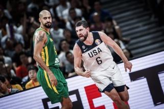 Pergalių seriją pratęsę amerikiečiai eliminavo Braziliją