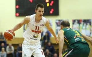 Paskutinės NKL reguliariojo sezono savaitės MVP - R.Pipiras