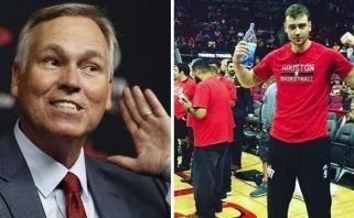 """Naujasis """"Rockets"""" treneris iš D.Motiejūno tikisi geriausio karjeros sezono"""