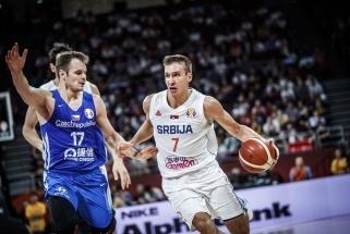 Penktąją vietą čempionate užėmė rungtynių pradžioje buksavę serbai