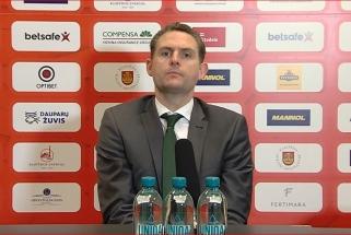 """""""Žalgiris"""" į Klaipėdą vėlavo dėl Lukošiūno: bus atliktas pakartotinis COVID-19 testas"""