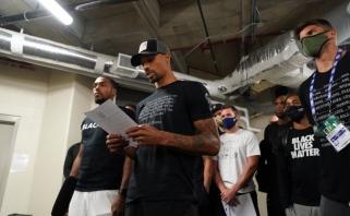 Situacija stabilizuota: NBA klubai nutarė tęsti sezoną