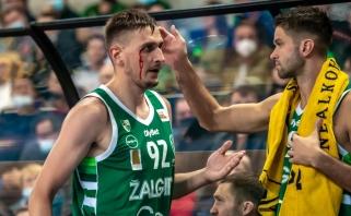 """""""Žalgiris"""" sezoną pradėjo nelengva pergale prieš LKL debiutantus"""