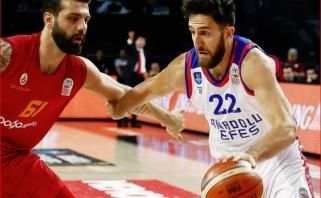 Buvę žalgiriečiai atvedė Eurolygos vicečempionus į Turkijos pirmenybių finalą
