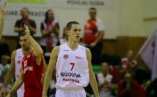 Marijampolę palikęs J.Davniukas karjerą tęs KTU komandoje