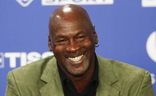"""M.Jordanas ir """"Hornets"""" žaidėjai įsteigė fondą paremti NBA darbuotojams"""