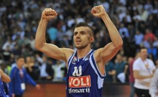 """Tris sezonus """"Budučnost"""" praleidęs įžaidėjas N.Gordičius grįžo į """"Partizan"""""""