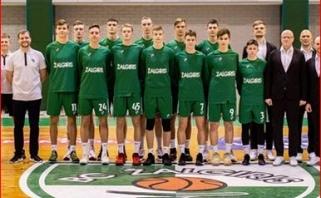 Jaunieji žalgiriečiai pasirengę penktadienį startuosiančiam Eurolygos jaunimo turnyrui
