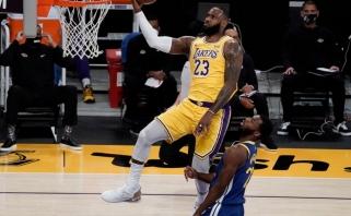 NBA čempionai krito savo aikštėje