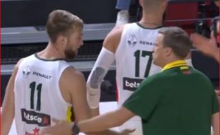 Lietuvos rinktinė tik du kėlinius tampėsi su Angolos krepšininkais