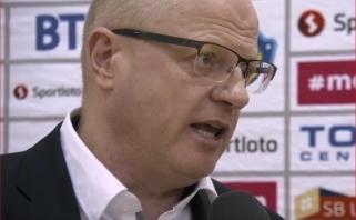"""""""Ryto"""" jaunimo treneris A.Gronskis prieš Eurolygos turnyrą: svarbiausia, visi yra sveiki"""