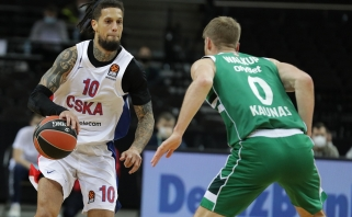 """CSKA vėl prarado patikimą snaiperį, veikiausiai nežais prieš """"Žalgirį"""""""