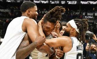 """Apie seksualinę prievartą prabilęs """"Spurs"""" gynėjas: mano plaukai buvo mano kaukė"""